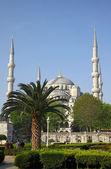 Błękitny meczet (sultanahmet camii), istanbul — Zdjęcie stockowe