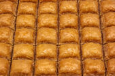 Turkish baklava dessert — Stock Photo
