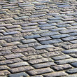 Stone blocks pavement surface - Stock Photo