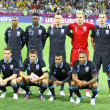 England national football team pose for a group photo — Stock Photo