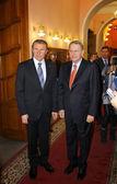 Serhii Bubka and Jacques Rogge — Stock Photo