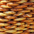 Traditional turkish crispy sesame bagels — Stock Photo #13593180
