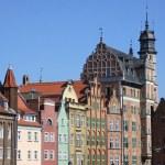 City Of Gdansk (Danzig), Poland — Stock Photo