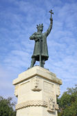 Monument of Stefan cel Mare in Chisinau — Stock Photo