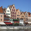 Colourful buildings in City of Gdansk, Poland — Stock Photo