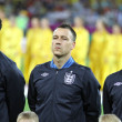 Joleon Lescott, John Terry and Danny Welbeck of England — Stock Photo #14662483