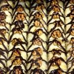 Traditional Turkish baklava cakes — Stock Photo