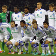 FC Dynamo Kyiv team pose for a group photo — Stok fotoğraf