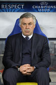 FC Paris Saint-Germain manager Carlo Ancelotti — Stock Photo