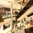 Christmas decoration in shopping mall — Stock Photo