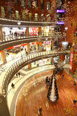 Christmas decoration in shopping mall — Fotografia Stock
