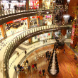 Christmas decoration in shopping mall — Stock Photo #16825895