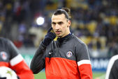 Zlatan Ibrahimovic of FC Paris Saint-Germain — Stock Photo