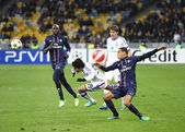 UEFA Champions League game between PSG and Dynamo Kyiv — Stock Photo
