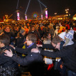 New Year celebrations in Berlin, Germany - Photo