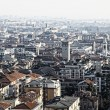 Bergamo city, Italy - Stock Photo