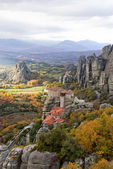 Meteora Rocks and Monasteries in Greece — Stock Photo