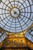 Galleria vittorio emanuele a milano — Foto Stock