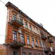 Famous One-Wall building in Odessa, Ukraine — Stock Photo