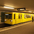 Potsdamer Platz U-bahn station at Berlin - Stock Photo