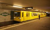 Potsdamer Platz U-bahn station at Berlin — Stock Photo
