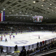 Stock Photo: Stadium during ice-hockey game