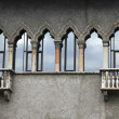 Stock Photo: Old balconies in Verona
