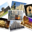 Royalty-Free Stock Photo: Collage made of postcards of the Milan city, Italy