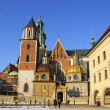 Stock Photo: Wawel Castle complex in Krakow