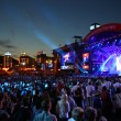 Charity Anti-AIDS concert at the Independence Square in Kyiv — Stock Photo #19494597