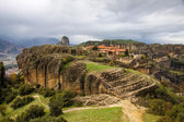 Agia triada klooster in meteora kloosters, griekenland — Stockfoto