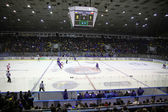 Stadium during ice-hockey game — Stock Photo