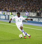 Taye Taiwo of FC Dynamo Kyiv — Stock Photo