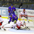 Ice-hockey game Ukraine vs Poland — Stock Photo #21309685