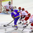 Ice-hockey game Ukraine vs Poland — Stock Photo #21309695