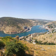 Royalty-Free Stock Photo: Panoramic bird-eye view of Balaklava bay, Ukraine