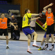 Handball game Ukraine vs Netherlands — Stock Photo #23549745
