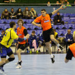 Handball game Ukraine vs Netherlands — Stock Photo #23549749