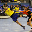 Handball game Ukraine vs Netherlands — ストック写真
