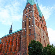 Church of Our Lady in Lubeck — Stock Photo #24278793