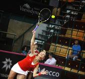 FedCup tennis game Ukraine vs Canada — Stock Photo