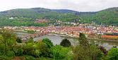 Panoramic view of Heildelberg, Germany — Stock Photo