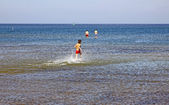 Baltische zeekust in swinoujscie, polen — Stockfoto