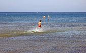 シフィノウィシチェ、ポーランドのバルト海の海岸 — ストック写真