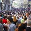 People walking on Istiklal Street in Istanbul — Stock Photo #29136345