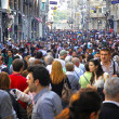 Stock Photo: People walking on Istiklal Street in Istanbul