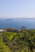 Bosphorus Strait in Istanbul, Turkey — Stock Photo