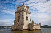 Belem Tower (Torre de Belem) in Lisbon — Stock Photo