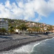 Beach in Santa Cruz, Madeira island, Portugal — Stock Photo #30167765