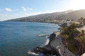 Beach in Santa Cruz, Madeira island, Portugal — Stock Photo